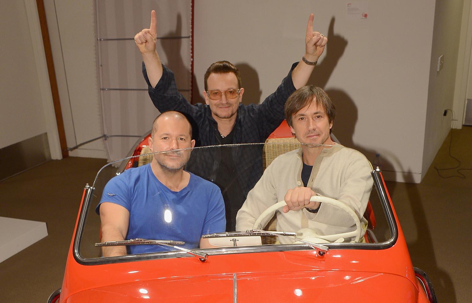 voiture Jony Ive Bono Marc Newson