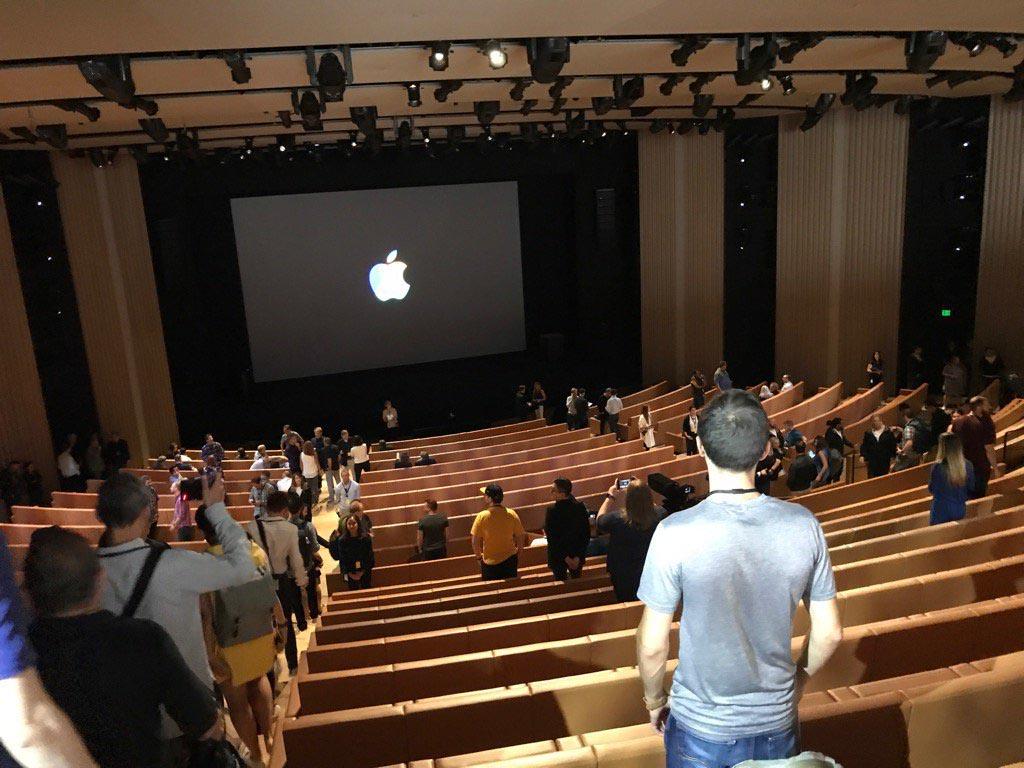 Steve Jobs Theater auditorium