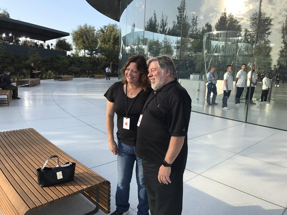 Steve Wozniak Apple Park
