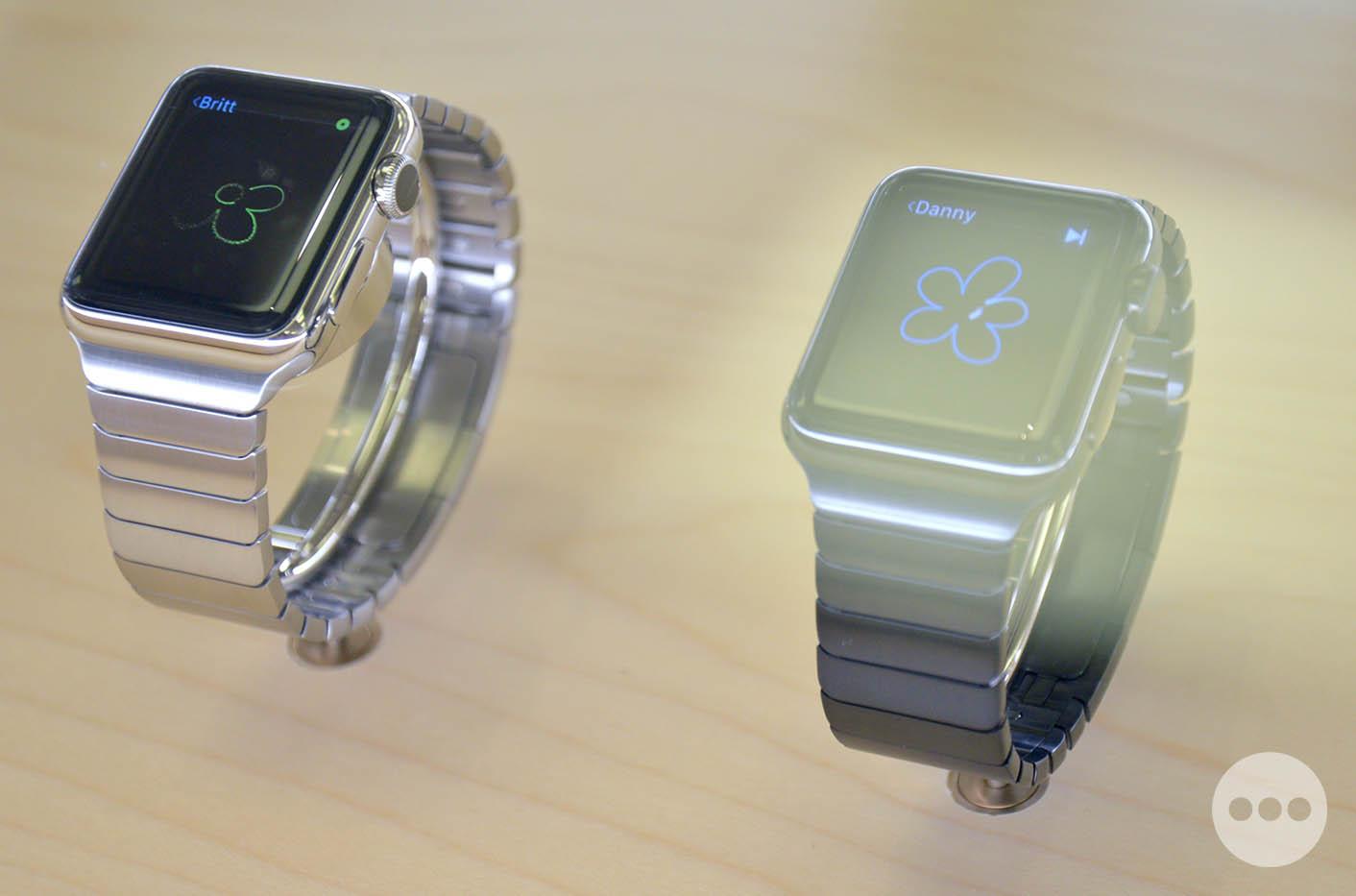 Apple Watch bracelet maillons