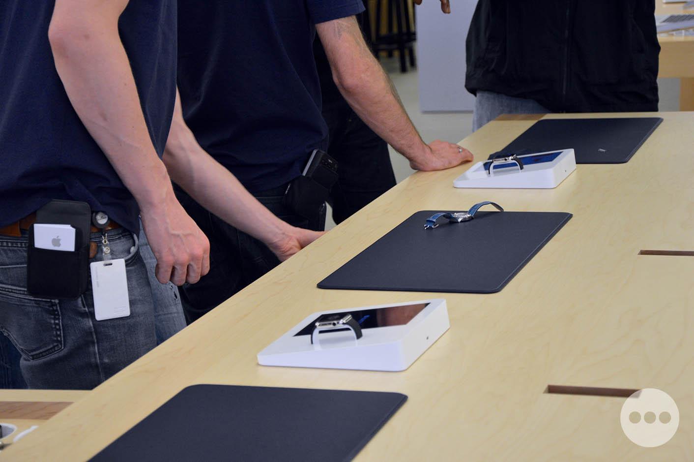 Apple Watch table essai