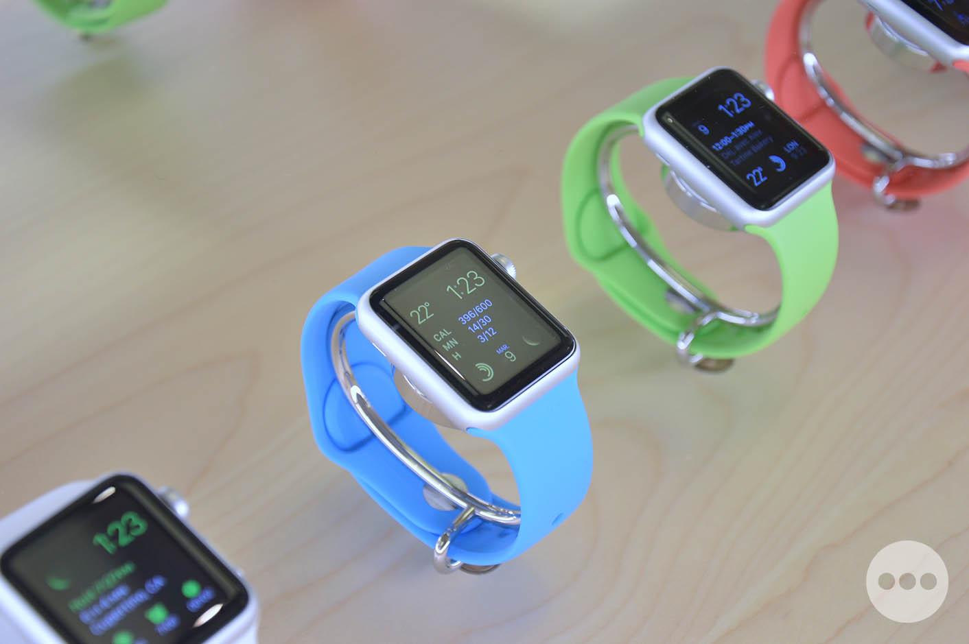 Lancement Apple Watch