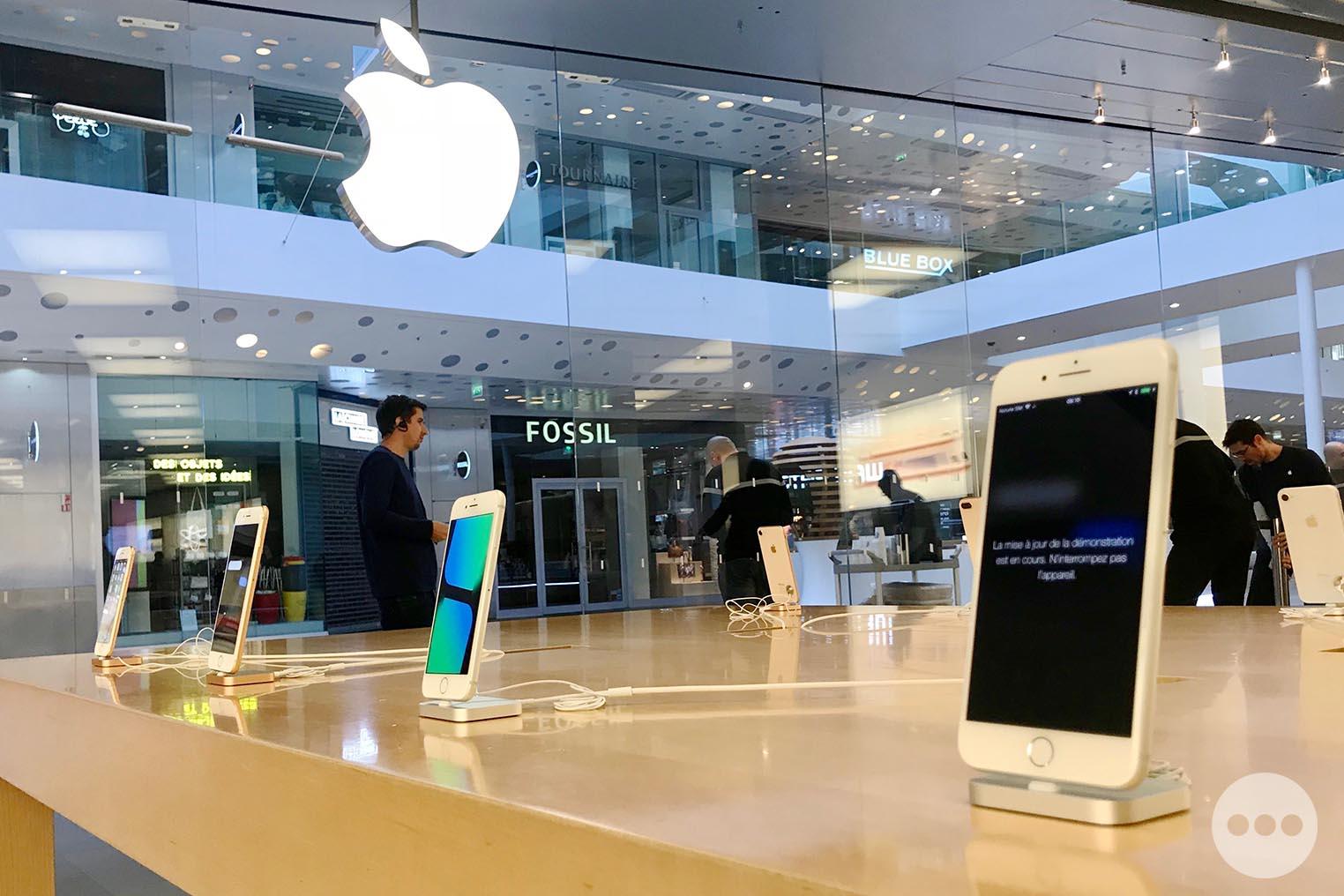 Lancement iPhone 8