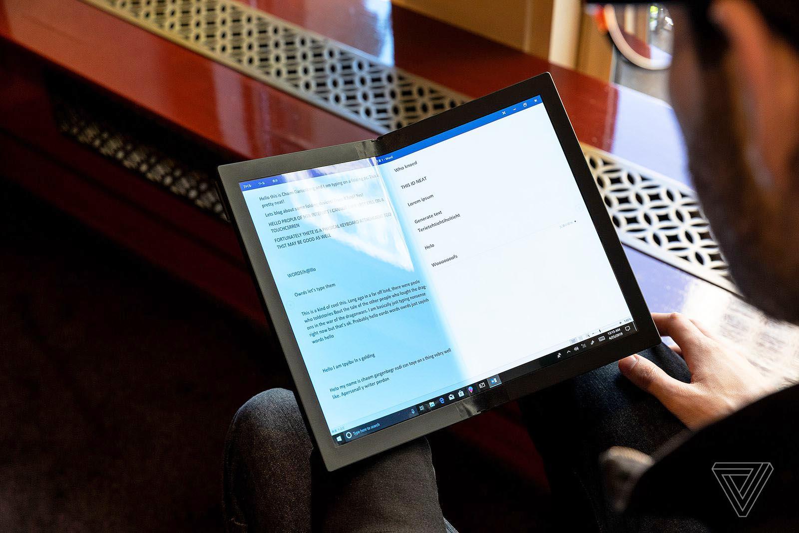 PC Lenovo portable