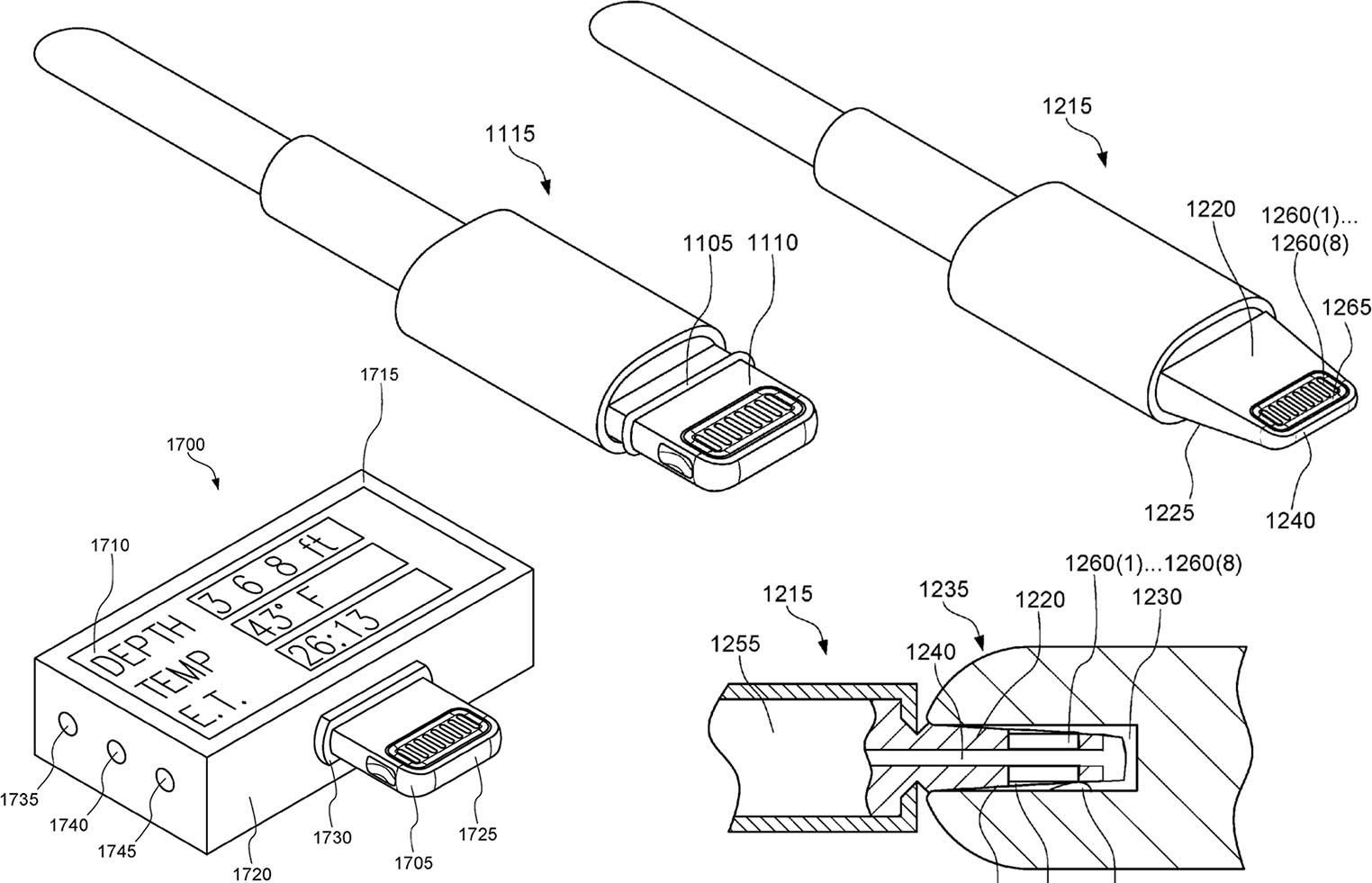 Câble Lightning étanche brevet