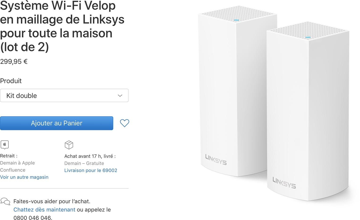 Linksys Velop Apple Store