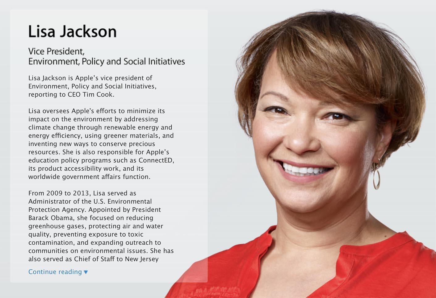 Lisa Jackson Apple