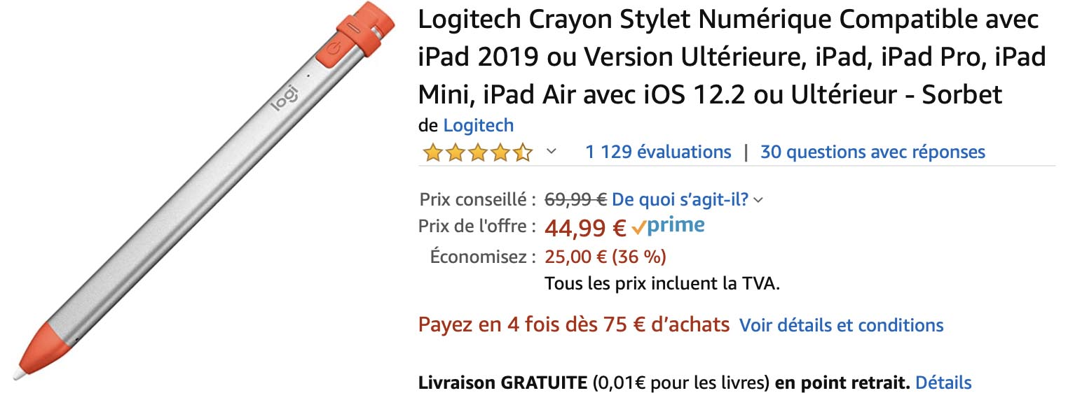Logitech Crayon Amazon
