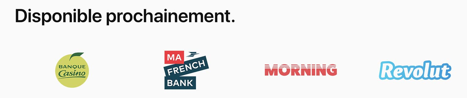 Ma French Bank Apple Pay