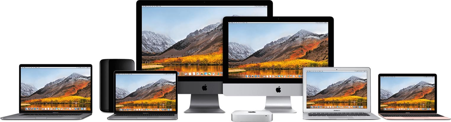 Mac 2017 gamme