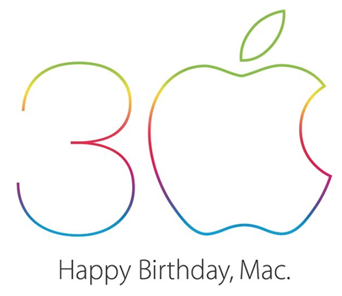 Mac 30 ans logo