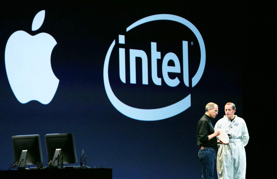 Steve Jobs Intel transition