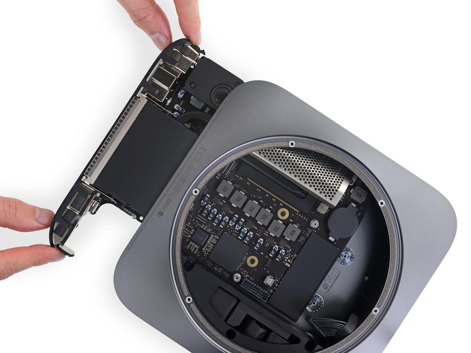 Mac mini 2018 iFixit