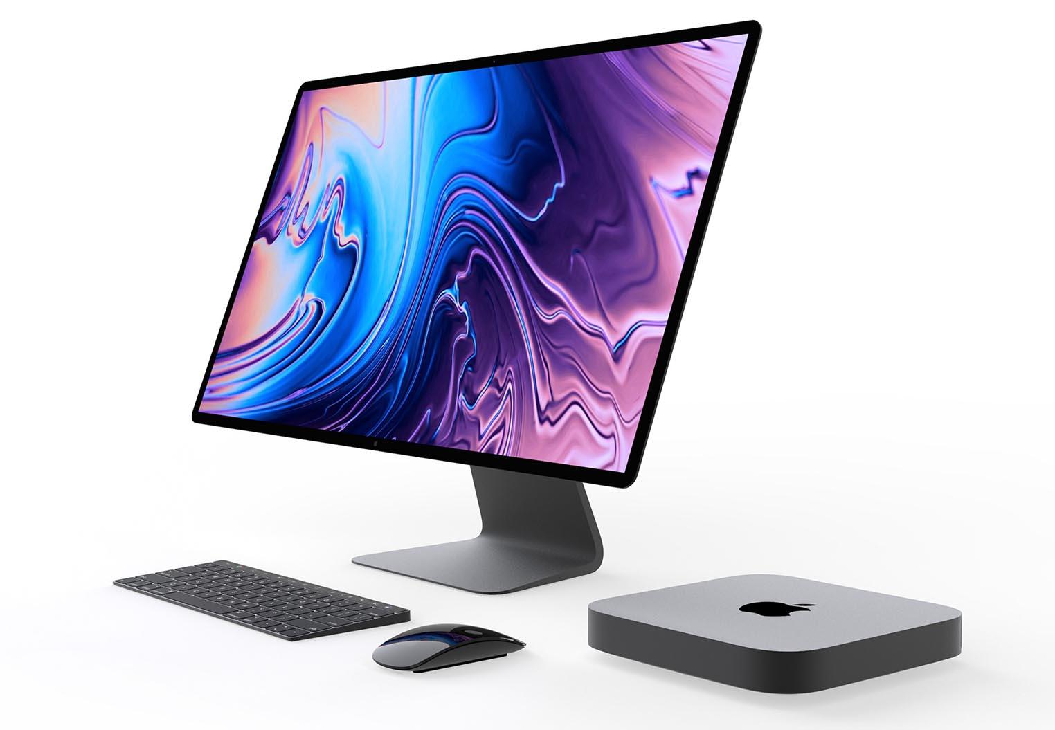 Écran Apple 2019 concept Viktor Kádár