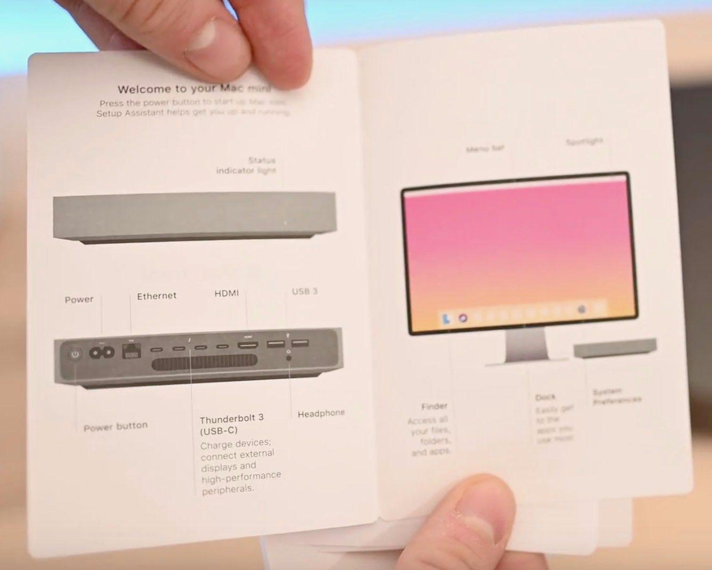 Écran manuel Mac mini 2018