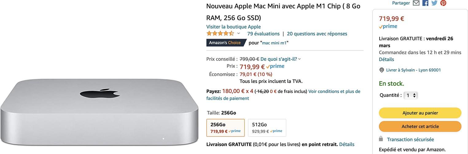 Mac mini M1 Amazon