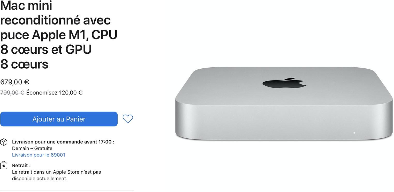 Mac mini M1 Refurb Store