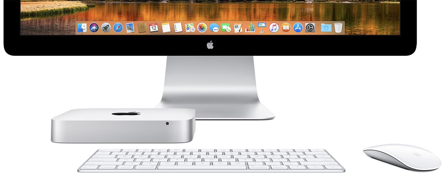 Mac mini clavier souris écran
