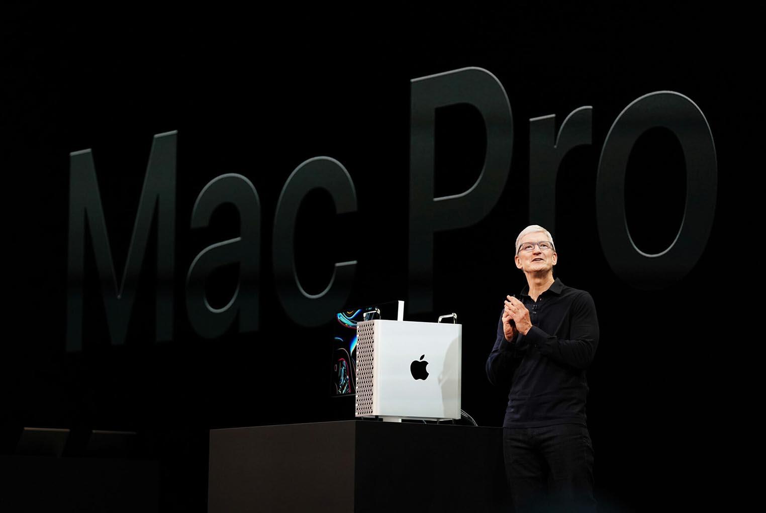 Tim Cook Mac Pro 2019