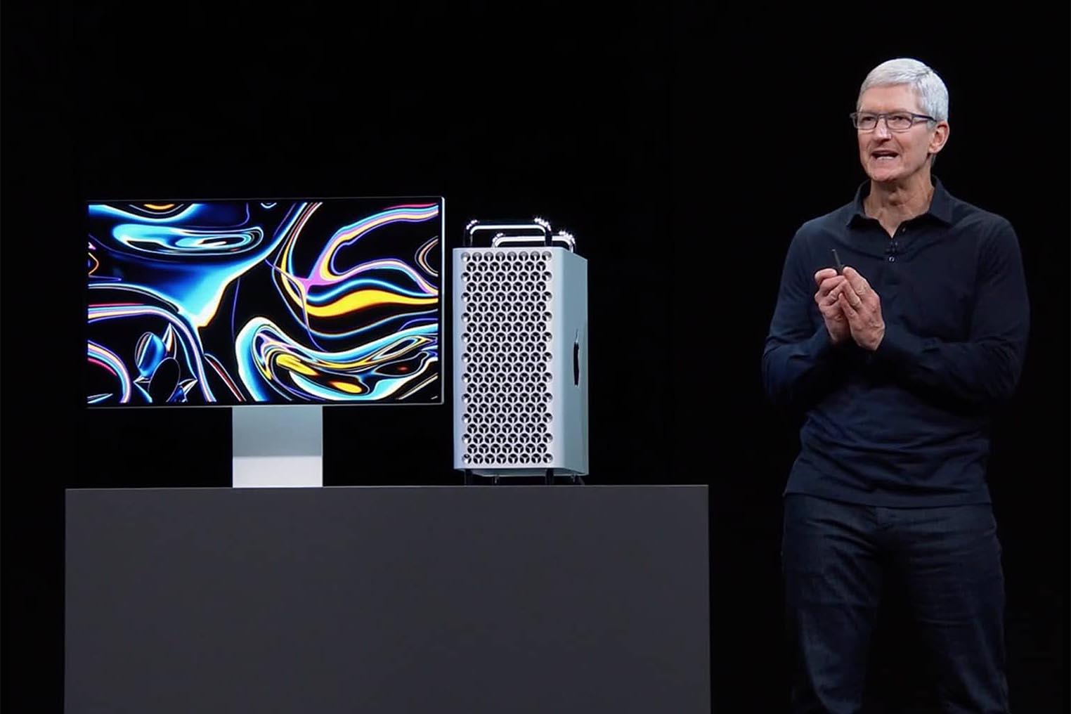 Mac Pro 2019 Tim Cook