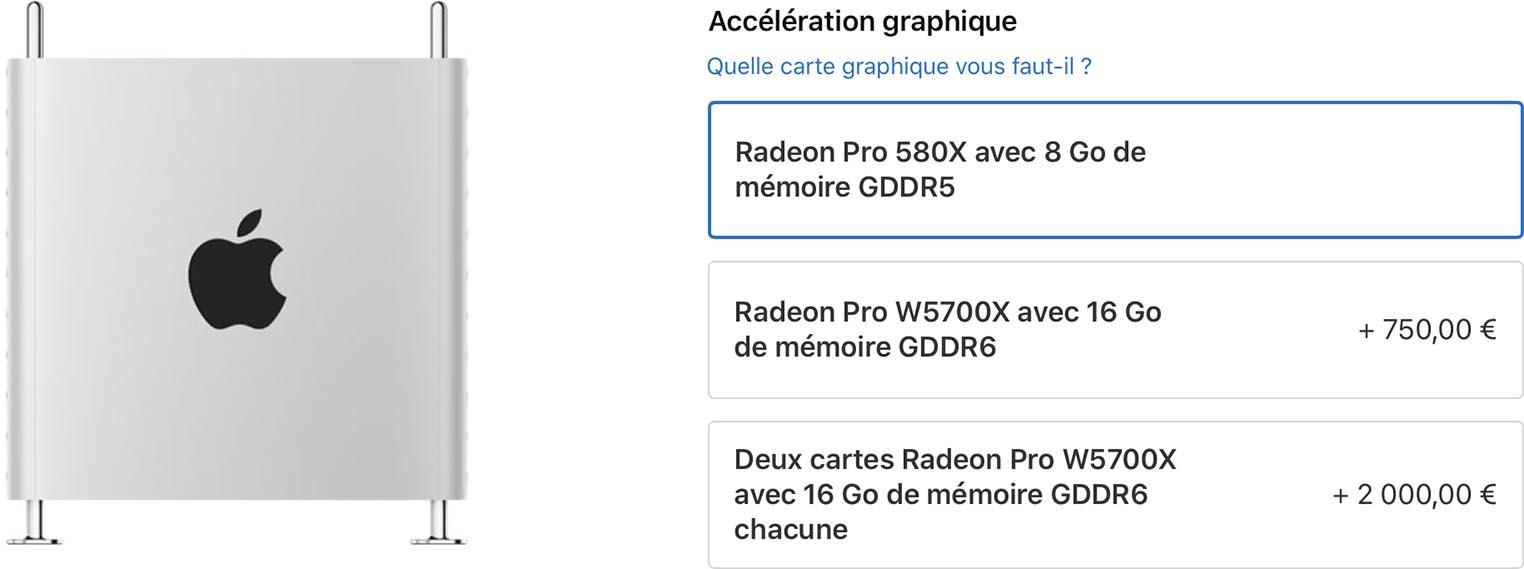 Mac Pro W5700X