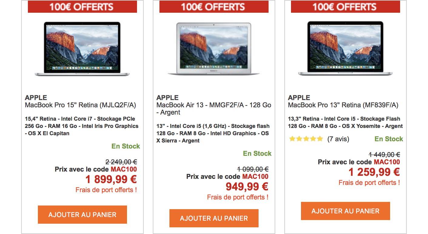 Promo Mac Rue du Commerce