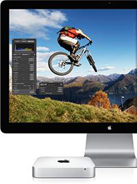 Mac mini et écran Thunderbolt