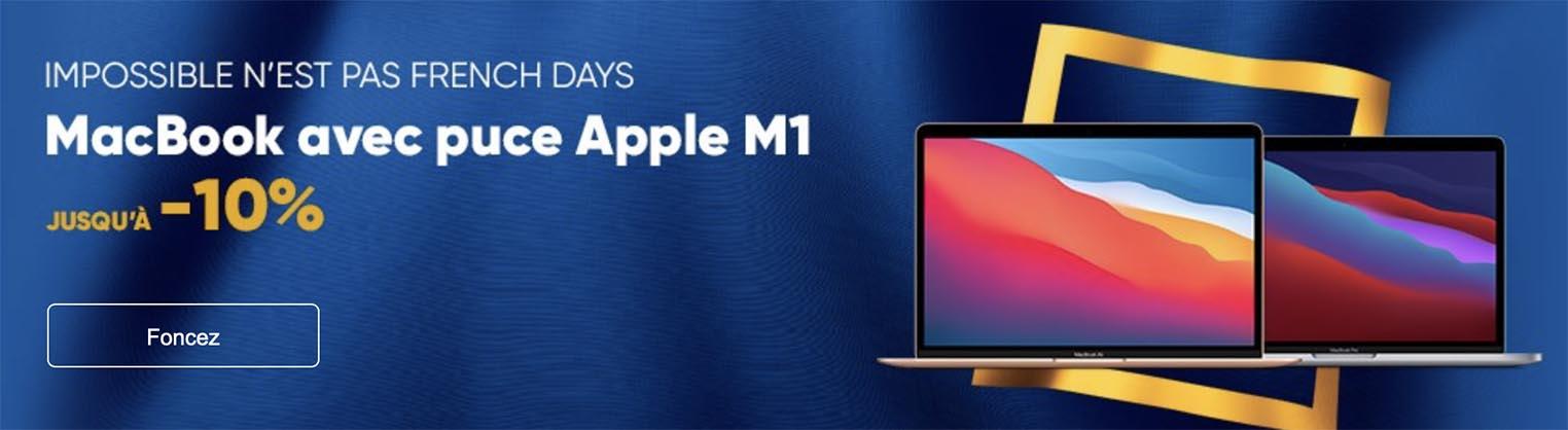 MacBook Air MacBook Pro promo Fnac