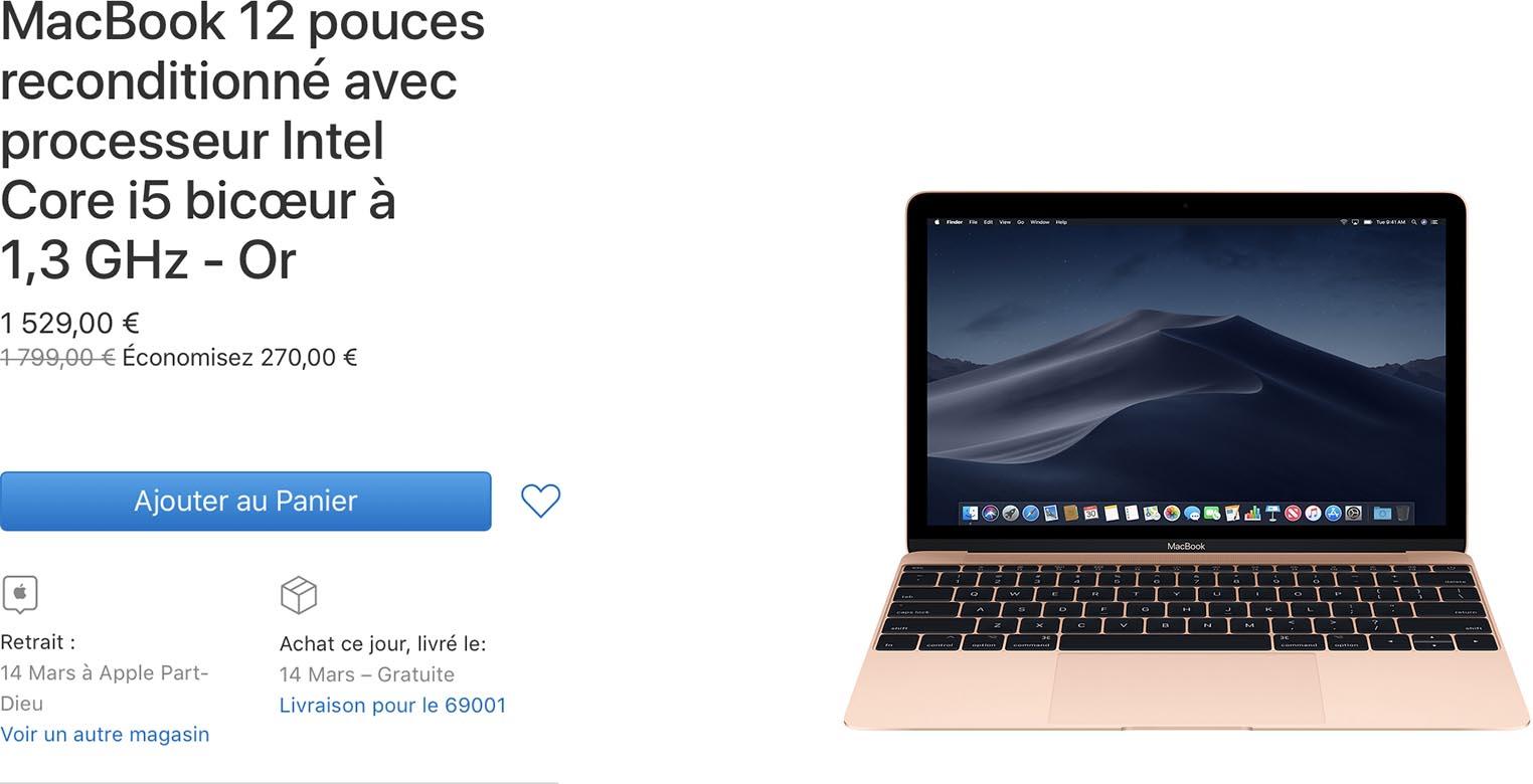 MacBook 12 Refurb Store