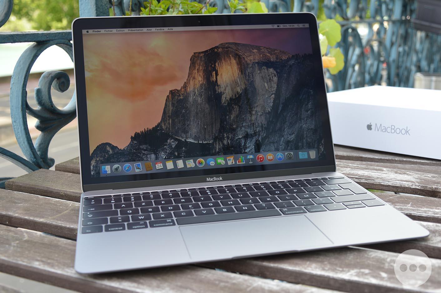 MacBook 12 gris sidéral
