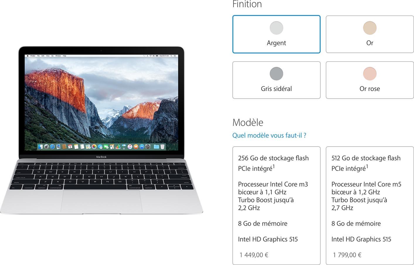MacBook 2016 specs