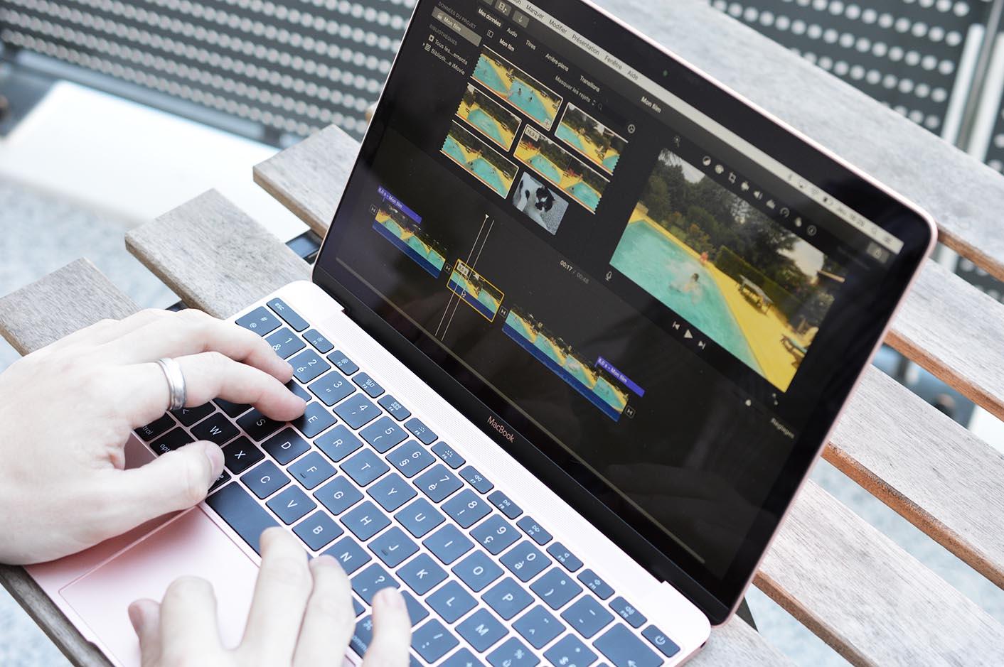 MacBook 2016 iMovie