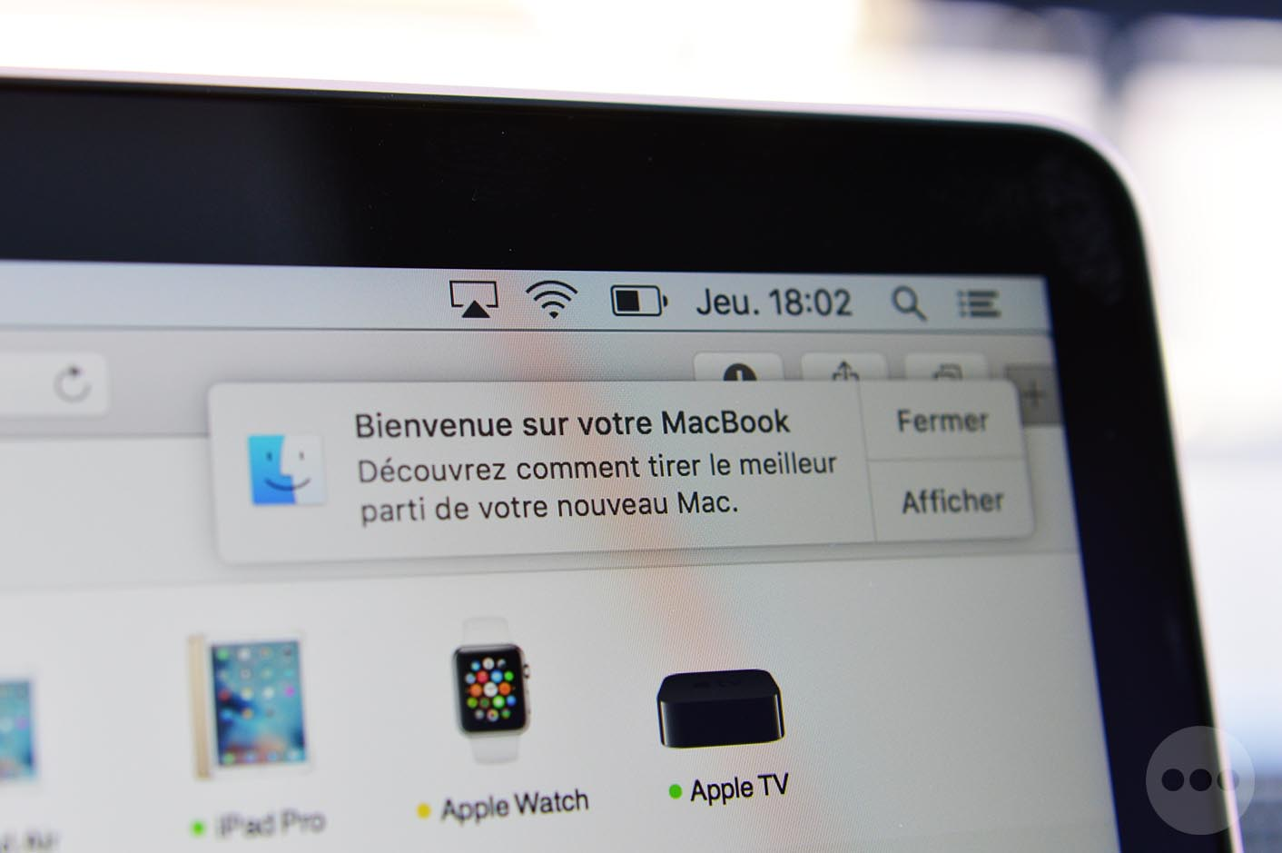 MacBook 2016 écran