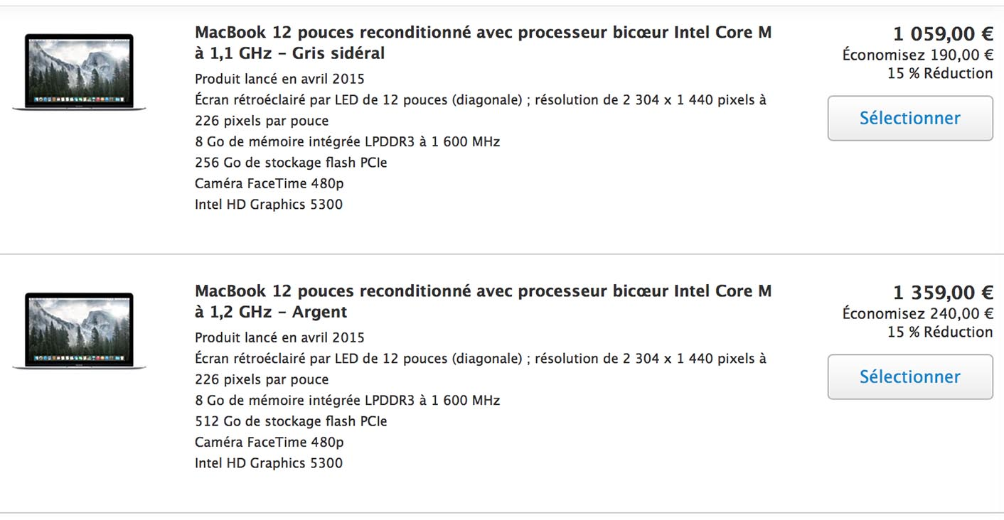 MacBook 2015 Refurb