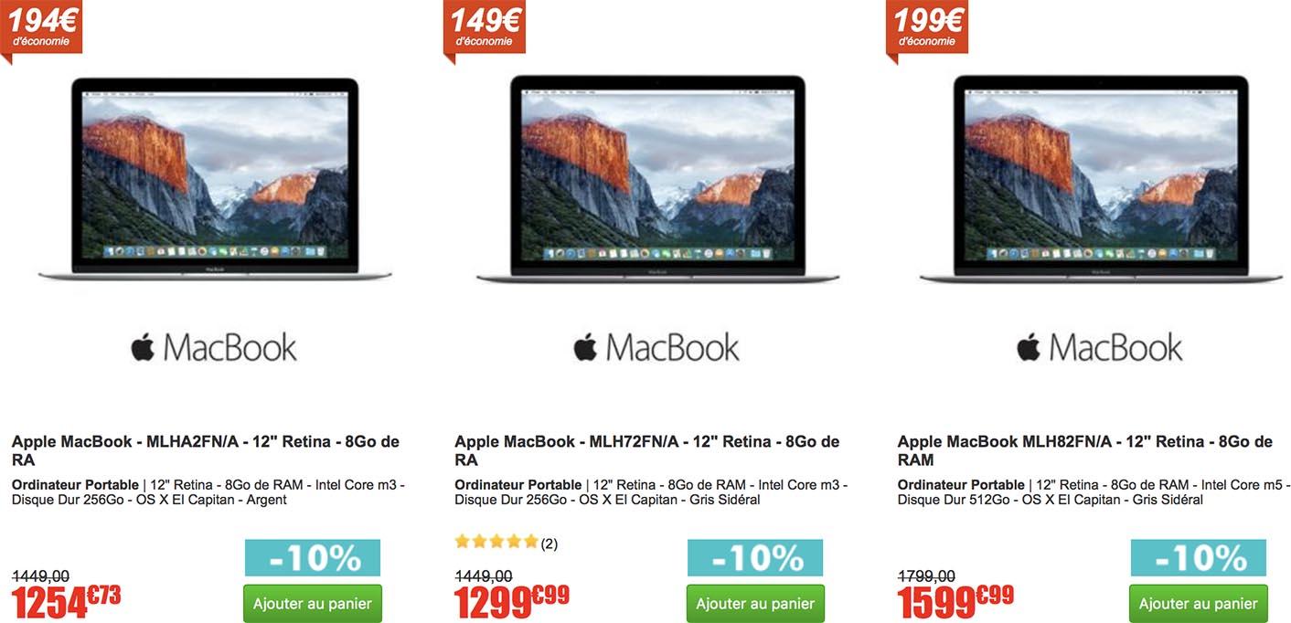 MacBook vente privée CDiscount