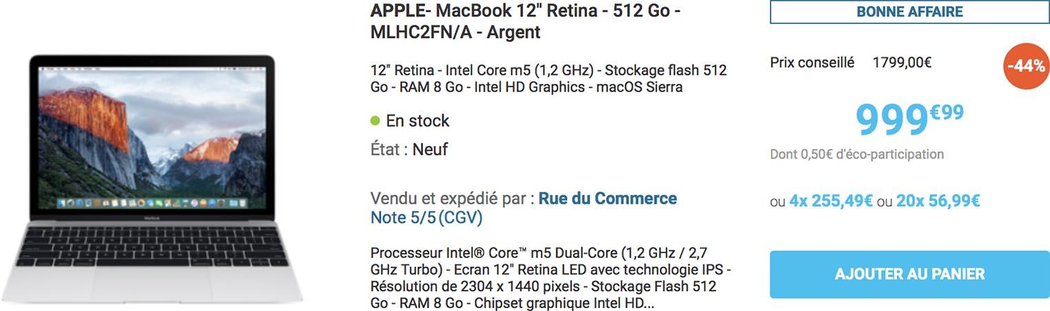 MacBook 12 Rue du Commerce