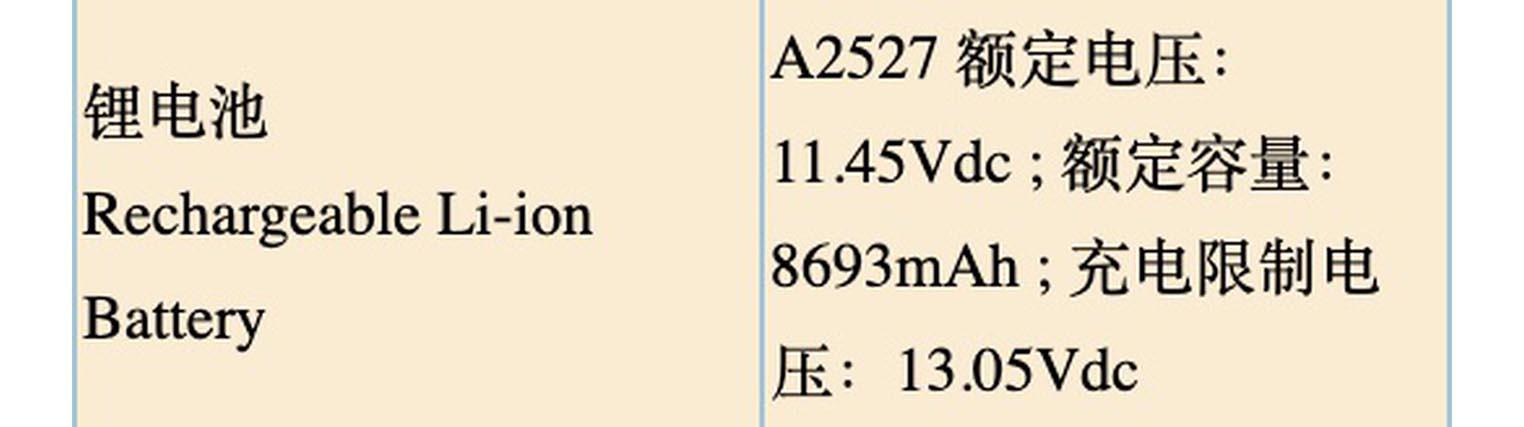 MacBook Pro A2527
