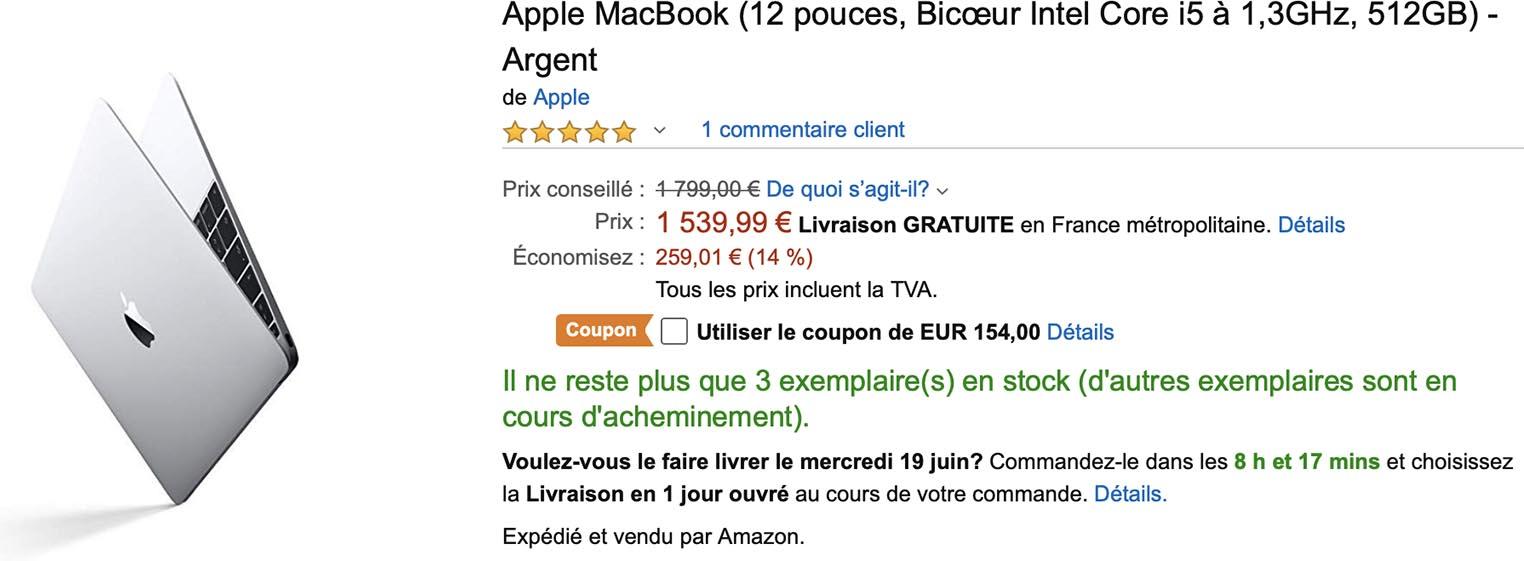 MacBook 12 Amazon