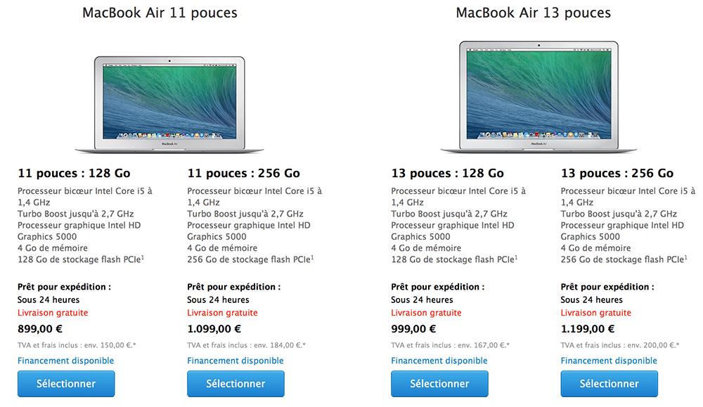 Consomac   Le MacBook Air mi-2014 est là ! 80d246cbf02d