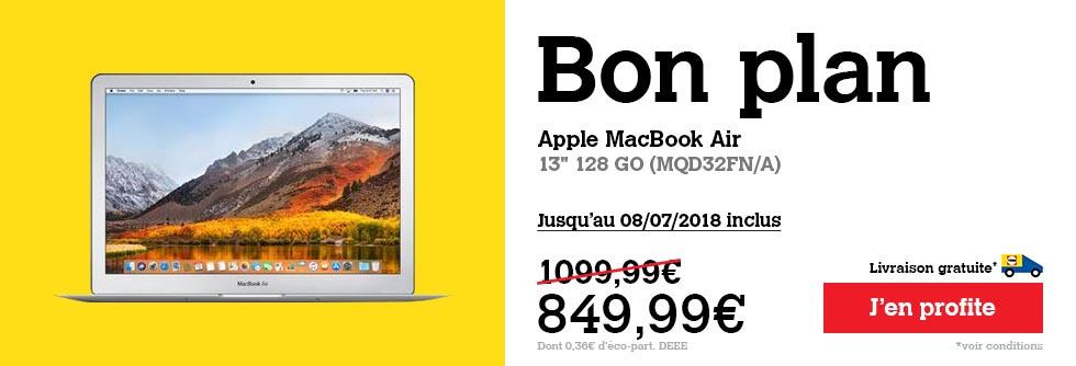 MacBook Air Darty promo