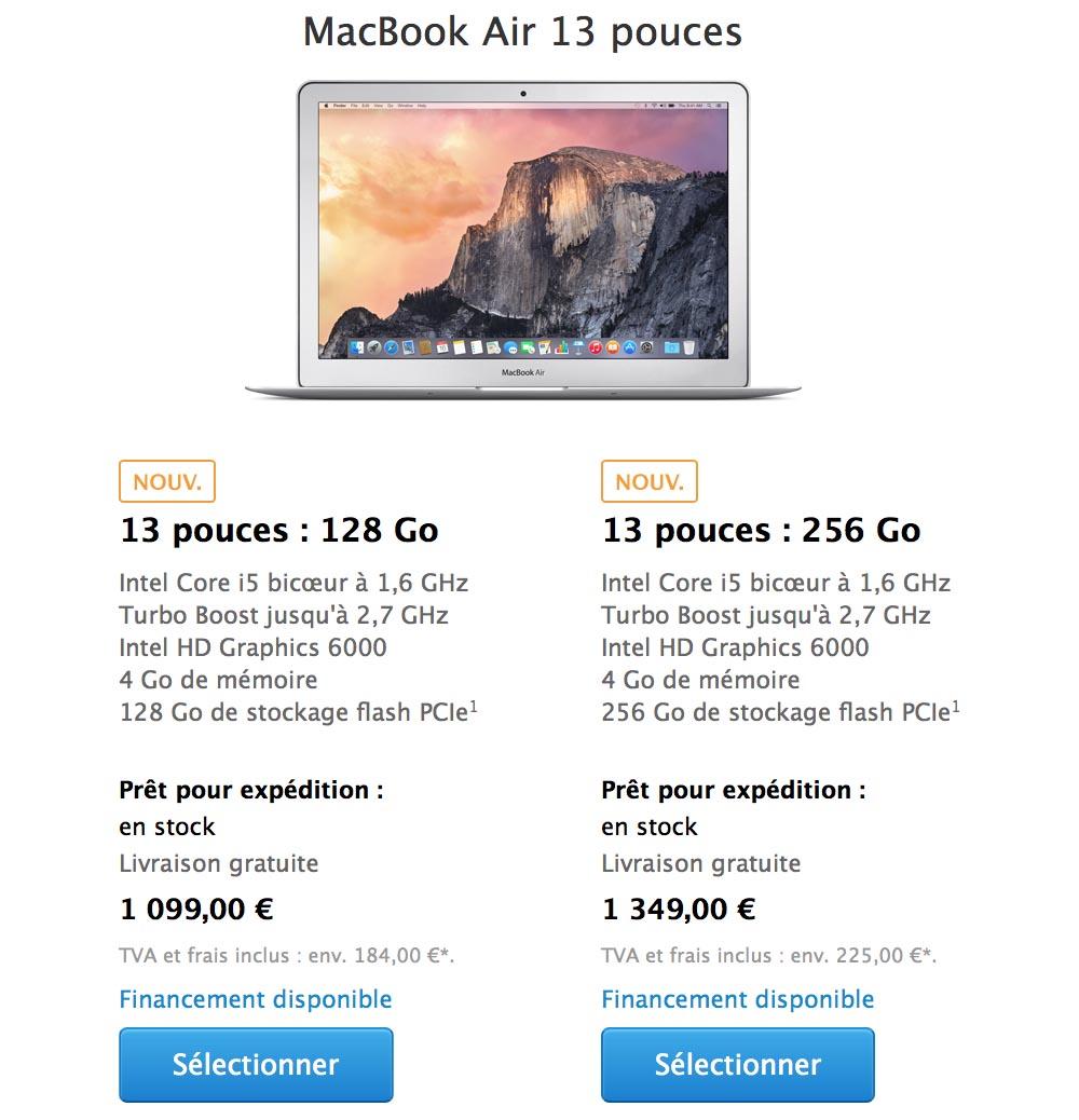 consomac apple augmente le prix de ses mac. Black Bedroom Furniture Sets. Home Design Ideas
