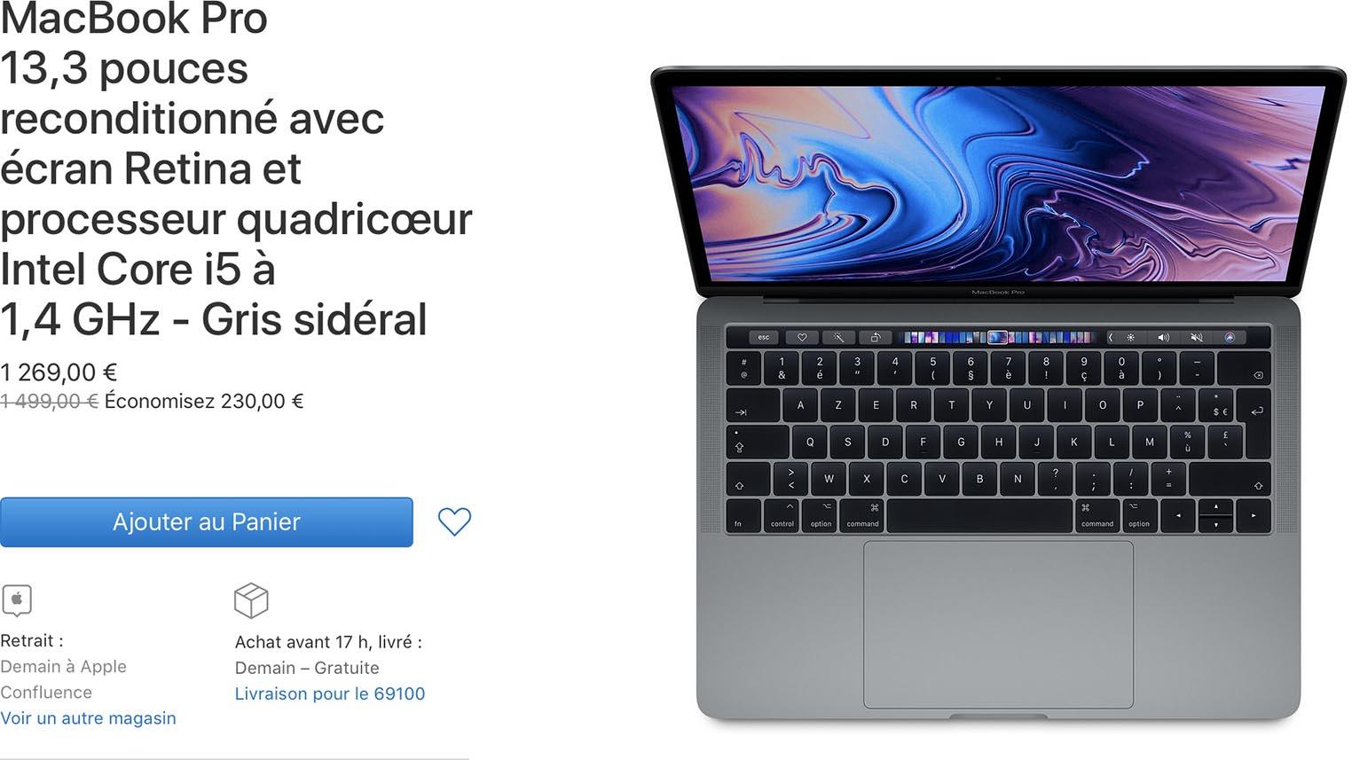 MacBook Pro 2019 Refurb