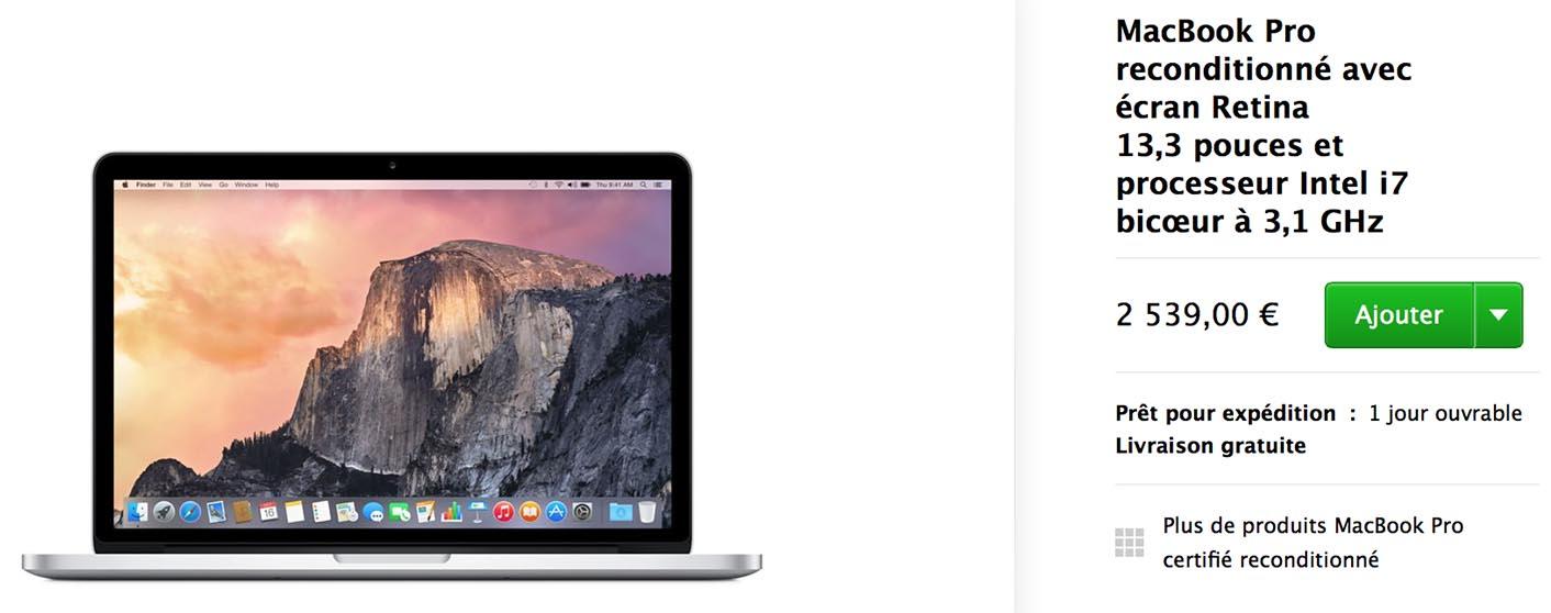 MacBook Pro 2015 Refurb