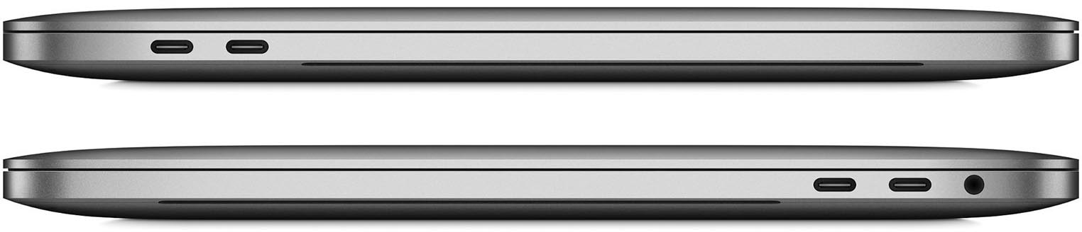 MacBook Pro 13 connectique USB-C