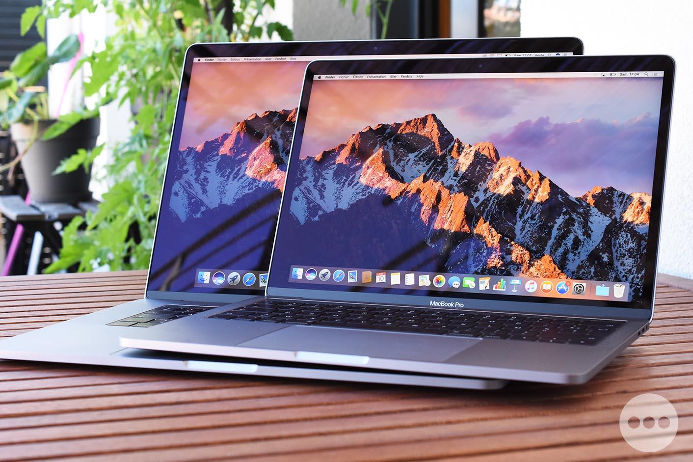 Test MacBook Pro 2017