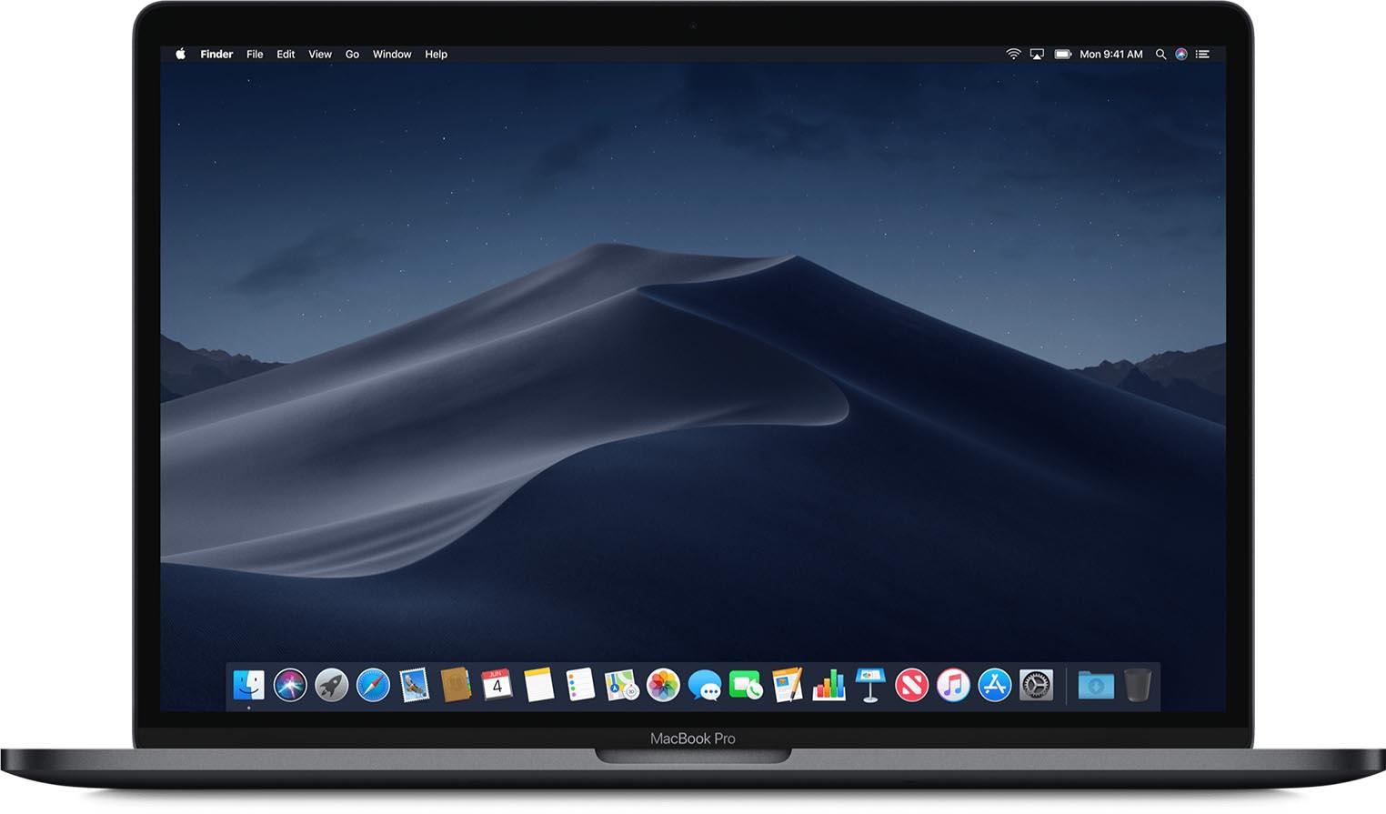 MacBook Pro 15,4 2018