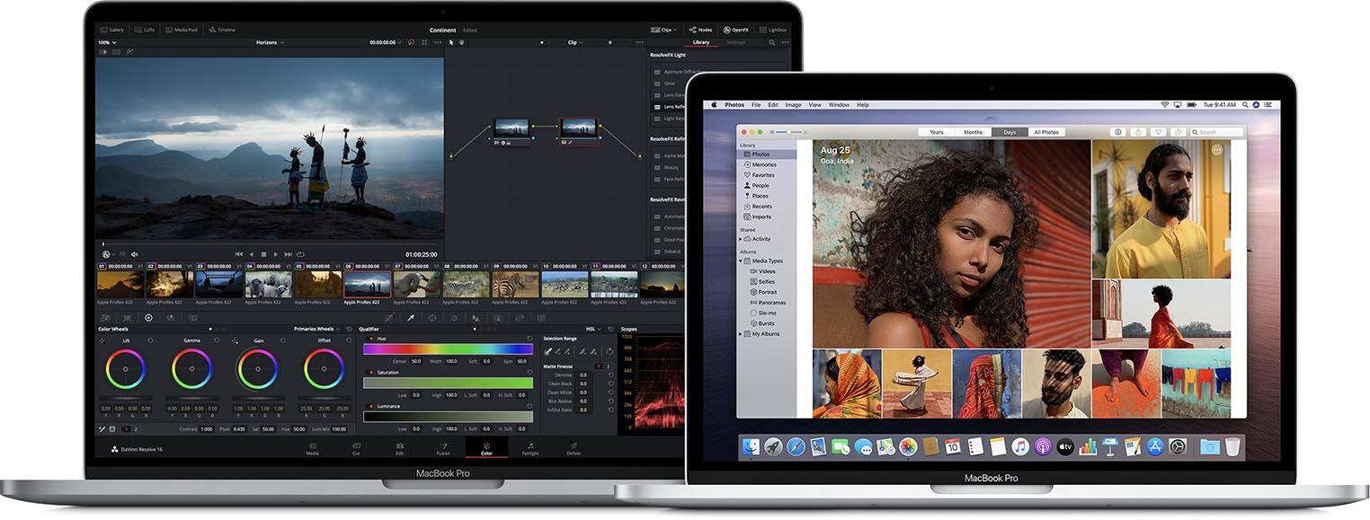 MacBook Pro 16 MacBook Pro 13