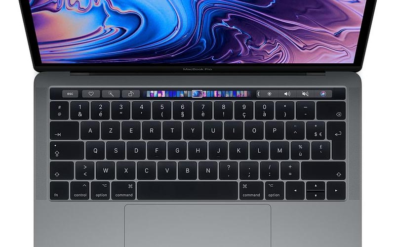 Un MacBook Pro 13,3'' de 2018 à 1 679,99 €