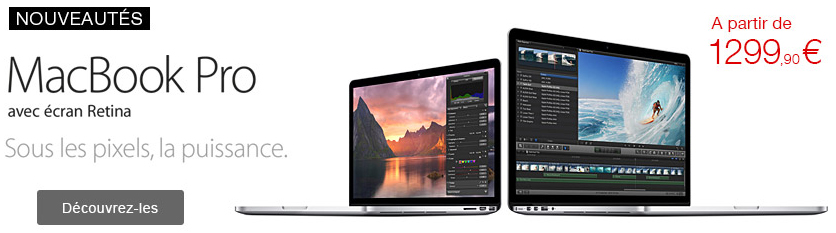 bonplan  sur les macbook pro a la fnac