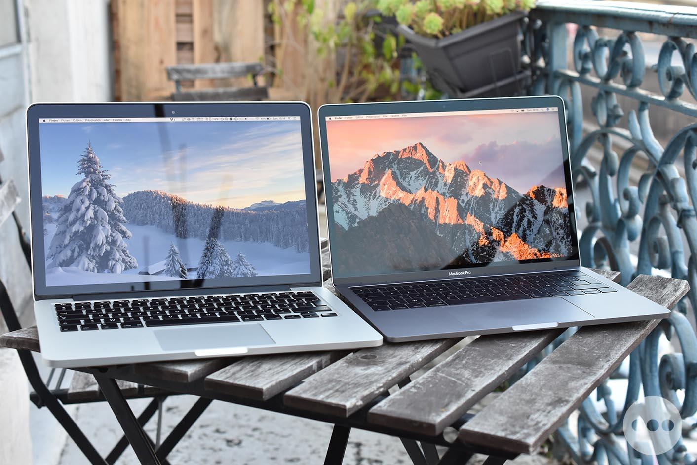 MacBook Pro 13 2015 et 2016